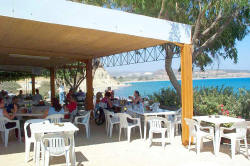 Picture of the Melanda Beach Taverna