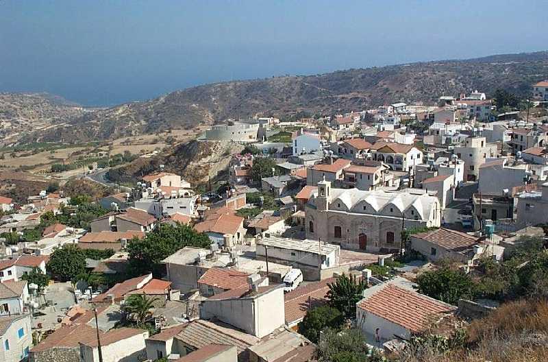 Information On Pissouri Village And Pissouri Beach Cyprus