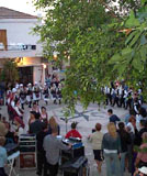 Cyprus Night in Pissouri Square