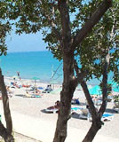 Beach and sea at Pissouri Bay
