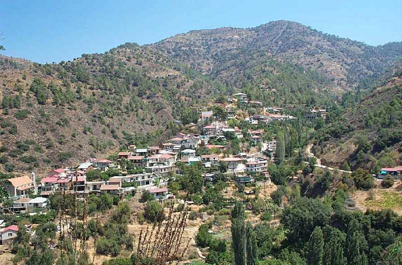 Cyprus Photos Troodos Mountains With Lemithou Pedoulas Oikos And Agros